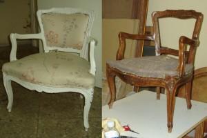 cambio acabado mueble