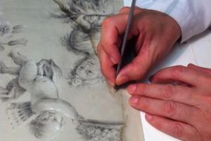 limpieza dibujos y estampas
