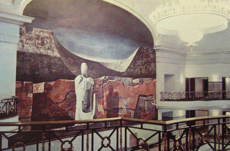 mural Vaquero antes